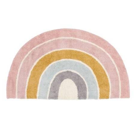 Dywan Tęcza z kolekcji Rainbow Pink 80x130cm mari Little Dutch