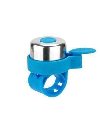 Micro dzwonek neonowy niebieski