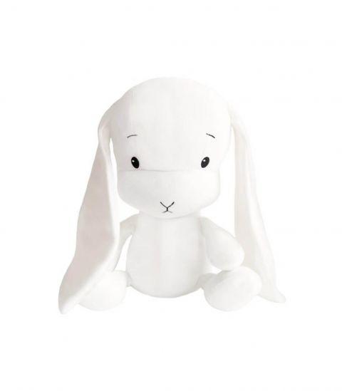 Effiki Królik M biały + białe uszy