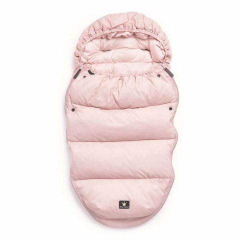 Elodie Details - Puchowy śpiworek do wózka różowy