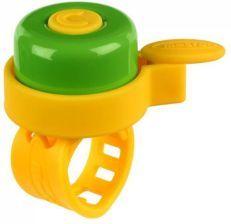 Micro dzwonek żółto-zielony