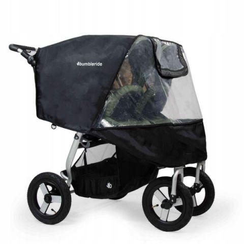 Folia przeciwdeszczowa do wózka Bumbleride Indie Twin bez PCV