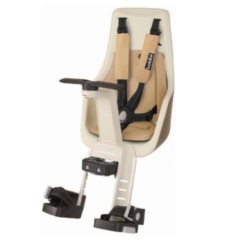 Fotelik rowerowy Bobike exclusive MINI PLUS na kierownicę safari chic