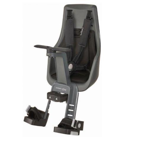 Fotelik rowerowy Bobike exclusive MINI PLUS na kierownicę urban grey