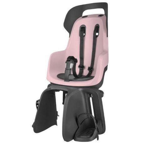 Fotelik rowerowy Bobike GO na bagażnik Cotton Candy Pink
