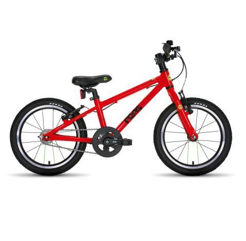 Lekki Rower Dziecięcy 16'' - Rower Frog 44 kolor czerwony
