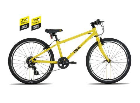 Lekki rower dziecięcy Frog Bikes kolor Tour de France - Frog 62 - 24 cale