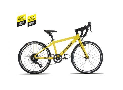 Lekki rower szosowy dziecięcy Frog Road 58 Tour de France - 20 cali