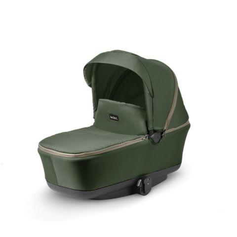 ciemno zielona gondola do wózka magicfold