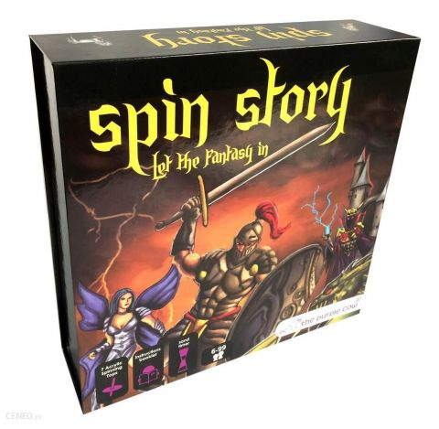 Gra edukacyjna The Purple Cow - Spin Story