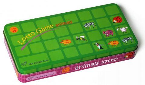 Gra Lotto The Purple Cow - Zwierzęta
