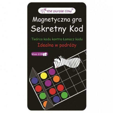 Gra magnetyczna The Purple Cow - Mastermind Secret