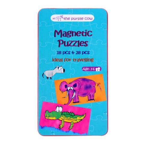 Gra magnetyczna The Purple Cow - Puzzle