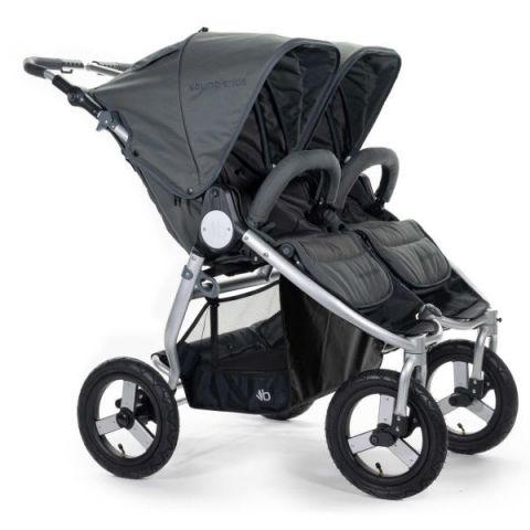Wózek bliźniaczy Bumbleride Indie Twin (2020) dawn grey