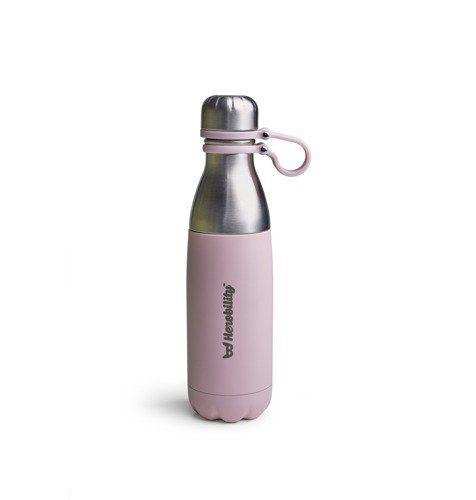 Herobility - butelka termos HeroGo 500ml Różowa