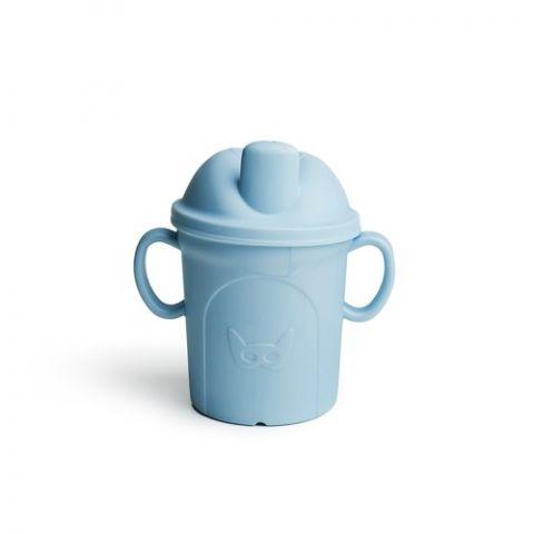 Herobility – kubek niekapek dla maluszka HeroEcoCup 210 ml niebieski