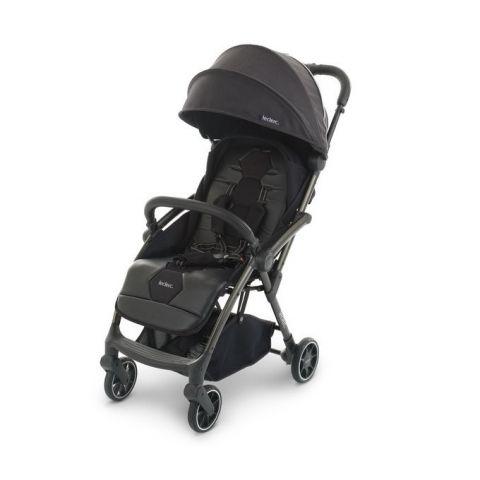 wózeczek spacerowy dla dziecka LECLERC Hexagon Carbon Black Czarny
