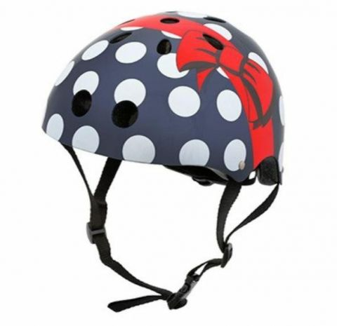 Kask rowerowy Hornit Polka Dots S