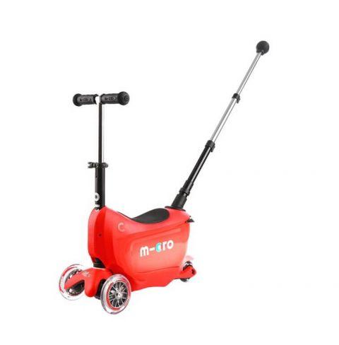 Hulajnoga Mini2go Deluxe Plus Czerwona