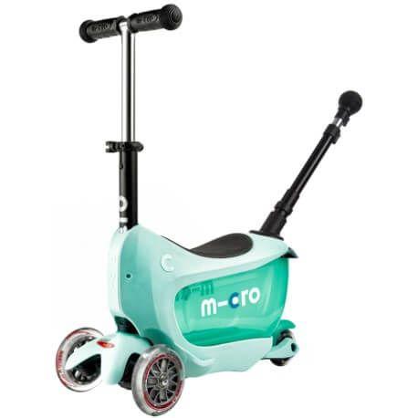 Hulajnoga Mini2go Deluxe Plus Miętowa