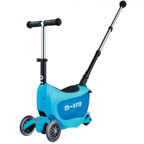 Hulajnoga Mini2go Deluxe Plus Niebieska