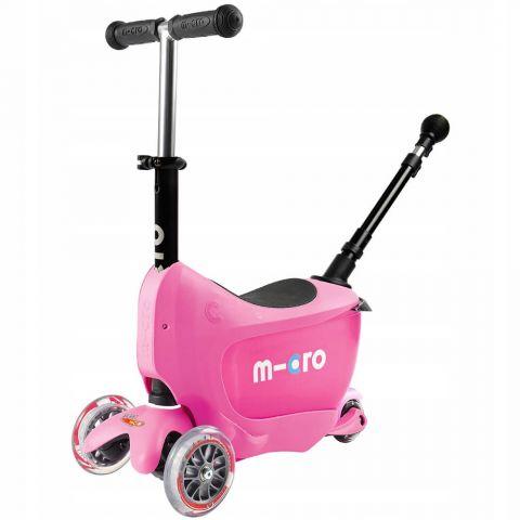 Hulajnoga Mini2go Deluxe Plus Różowa