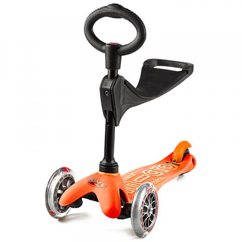 Hulajnoga Mini Micro 3w1 Deluxe Pomarańczowa