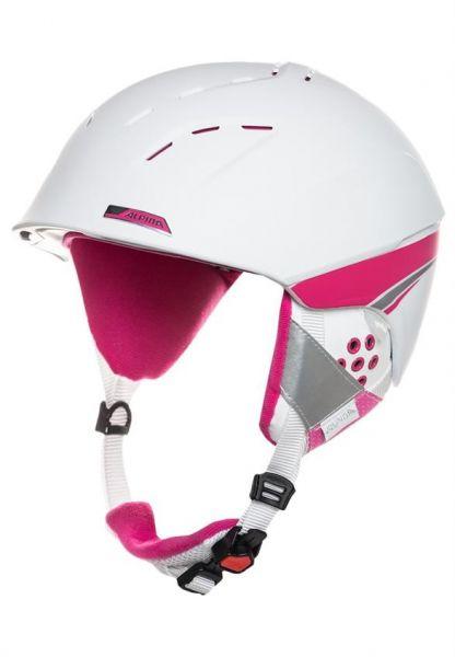 Alpina Kask Zimowy SPICE White-Rose Matt 55-59