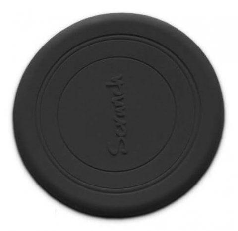 Scrunch Silikonowe Frisbee - Czarny