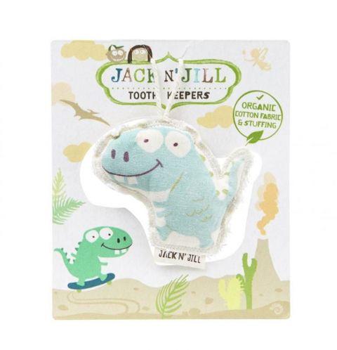 Jack n'Jill strażnik mlecznych ząbków pod podusię DINO