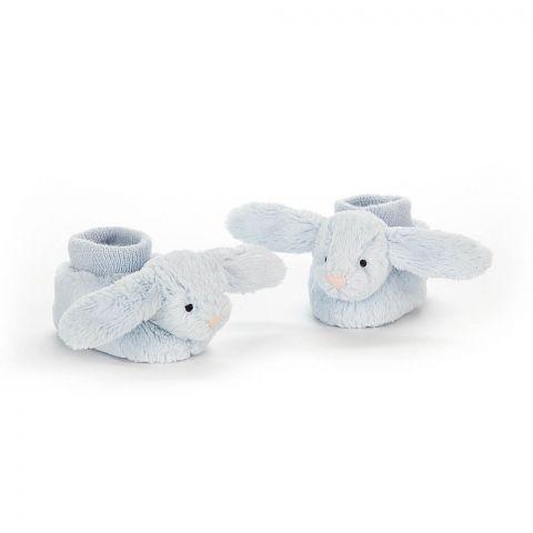 Jellycat Buciki z króliczkami niebieskie