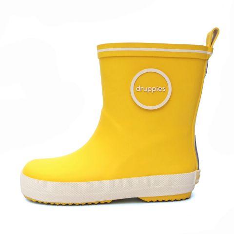 Kolorowe dziecięce kalosze Druppies yellow 20