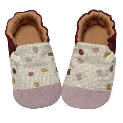 Kapcie dziecięce Baby Bisous Cute Dots 24