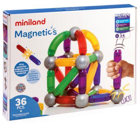 klocki magnetyczne dla dzieci miniland