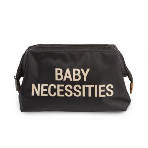 Childhome Kosmetyczka Baby Necessities Czarno-Złota