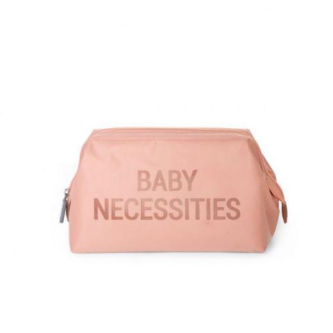 Childhome Kosmetyczka Baby Necessities Różowa