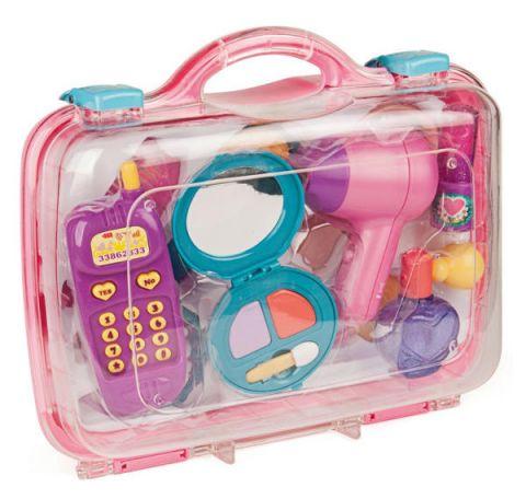 zestaw zabawkowych kosmetyków dla dziewczynki miniland