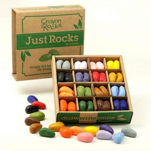 Kredki Crayon Rocks w pudełku 64 sztuki 16 kolorów