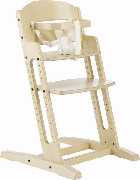 Krzesełko do karmienia Baby Dan DANCHAIR - bielone