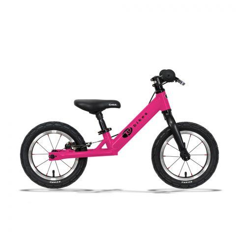 """Rower biegowy Kubikes 12""""  Brake różowy"""