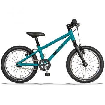 Lekki rower dla dzieci 16 cali Kubikes Turkusowy MTB
