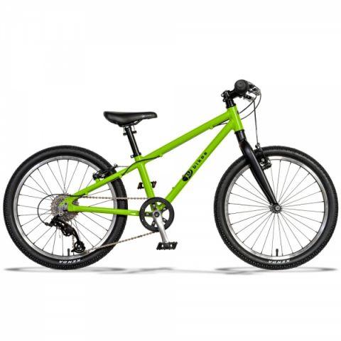 Lekki rower dziecięcy KUbikes 20 L MTB Zielony