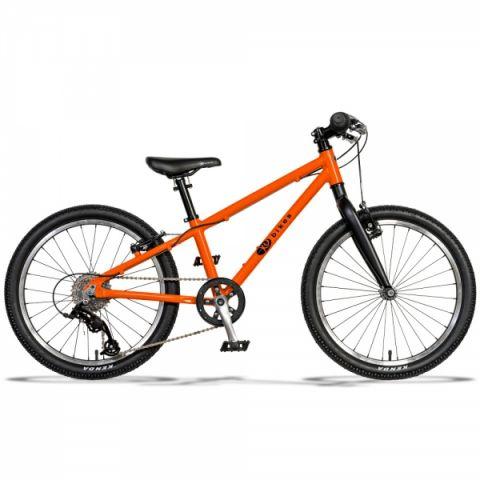 Lekki rower dziecięcy KUbikes 20 L Pomarańczowy