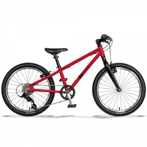 Lekki rower dziecięcy KUbikes 20 cali rozmiar L Czerwony