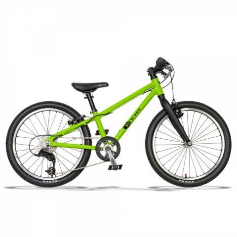 Lekki rower dziecięcy KUbikes 20 S MTB zielony