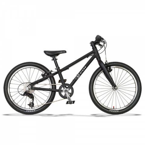 Lekki rower dziecięcy 20 cali Kubikes czarny