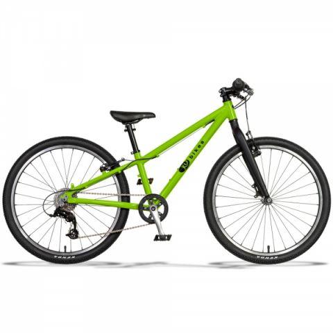 Lekki rower dziecięcy KUbikes 24 S MTB Zielony