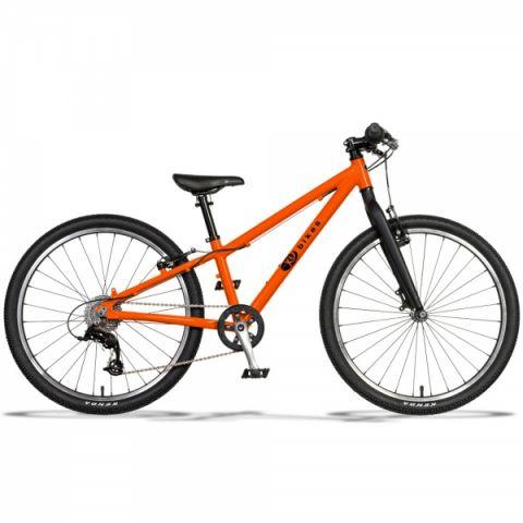 Lekki rower dziecięcy KUbikes 24 S MTB Pomarańczowy
