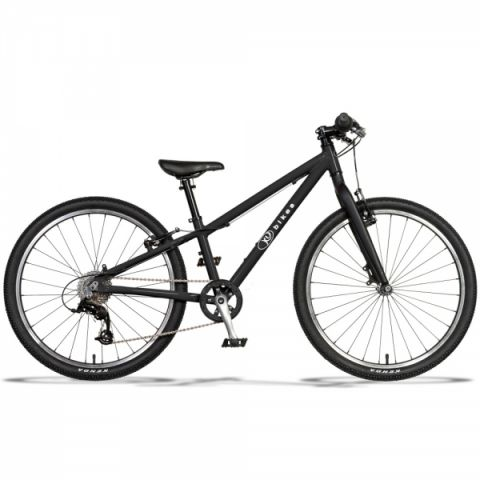 """Lekki rower dziecięcy KUbikes 24"""" S MTB Czarny"""