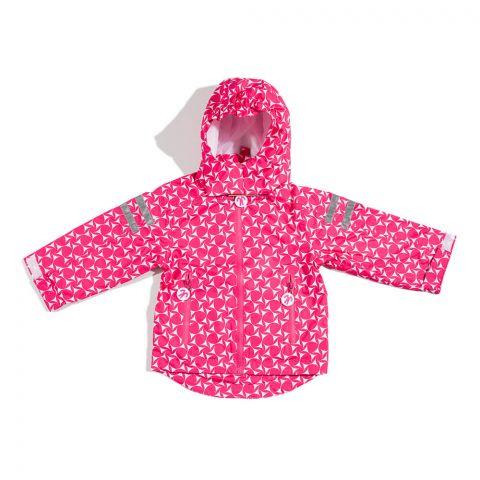 DUCKSDAY dziecięca kurtka przeciwdeszczowa Queen 104-110